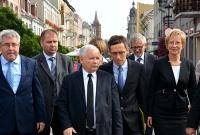 Jarosław Kaczyński odwiedził Pierwszą Stolicę