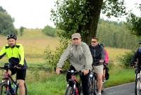 Rowerzystom z Kiszkowa deszcz niestraszny!