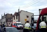 Zderzenie 5 aut w Witkowie! Ciężarna kobieta w szpitalu