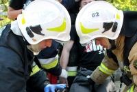 Pożar łodzi w Skorzęcinie! Strażacy w akcji