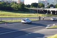Zderzenie Toyoty z ciężarówką na Trasie Zjazdu Gnieźnieńskiego