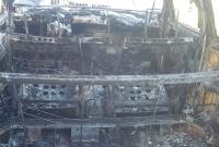 Pożar auta w Kołaczkowie! W środku była butla z gazem!