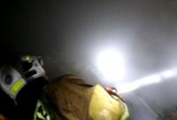 Pożar na działkach w Witkowie