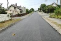 Ulica Wierzbiczany po częściowym remoncie