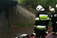 Strażacy walczą ze skutkami nawałnicy