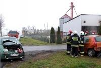 Wypadek drogowy w Ułanowie