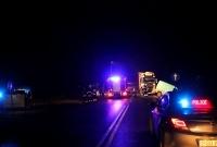 Zderzenie ciężarówki z busem! 4 osoby w szpitalu