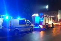 Pożar przy ul. Cymsa w Gnieźnie