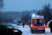 Zderzenie dwóch aut w Piaskach
