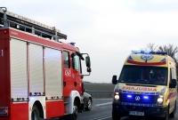 Wypadek w Szczytnikach Czerniejewskich! 3 osoby w szpitalu