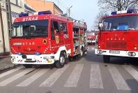 Pożar mieszkania w Czerniejewie! Na miejscu 5 zastępów Straży Pożarnej