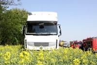 Dwie kolizje ciężarówek w odstępie kilkunastu minut
