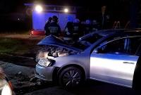 Wypadek w Komorowie! Jedna osoba w szpitalu