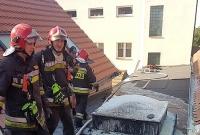 Pożar szkoły w Szczytnikach Duchownych