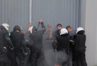 Bunt, pożar, barykada - ćwiczenia działań ochronnych