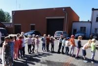 Dzieci odwiedziły strażaków