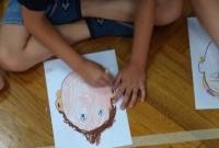 Dzieci spotkały się z pisarką i ilustratorką