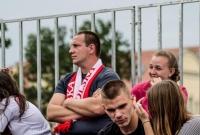 Mecz Japonia - Polska w gnieźnieńskiej Strefie Kibica