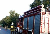 Wypadek w Trzemesznie! Dwie osoby w szpitalu