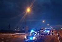 Obywatel Ukrainy rozbił auto na drodze S5