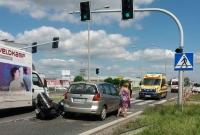 Wypadek motocyklisty na ul. Poznańskiej!