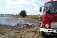 Strażacy z Witkowa ratowali plony rolników