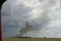 Kolejny pożar zboża na pniu