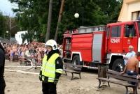 Nieudany skok do wody w Skorzęcinie! Na miejsce wezwano śmigłowiec LPR