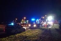 Zderzenie skutera z samochodem osobowym! Dwie osoby w szpitalu