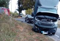 Zderzenie dwóch aut w Czerniejewie
