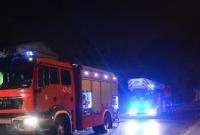 Pożar przy ul. Kołłątaja w Gnieźnie