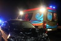 Wypadek między Witkowem a Mielżynem! Auto uderzyło w przyczepę rolniczą
