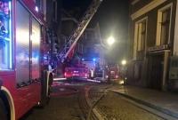 Pożar kamienicy przy ul. Kaszarskiej w Gnieźnie