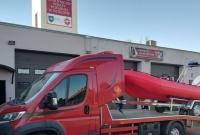Nowa łódź w remizie OSP Witkowo