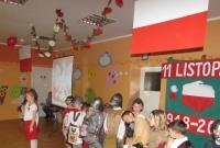 Obchody Dnia Niepodległości w Przedszkolu nr 5