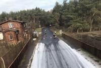 Zderzenie przy wiadukcie kolejowym! W autach były dzieci