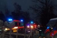 Zderzenie osobówki z ciągnikiem rolniczym! Jedna osoba w szpitalu