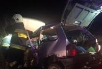 Auto uderzyło w drzewo! Kierowca był nieprzytomny