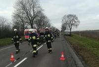 Wypadek dwóch aut pod Kłeckiem!