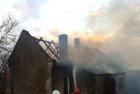 Pożar domu w Mnichowie