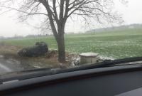 Dwa auta dachowały w Działyniu