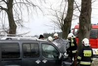 Kierownik sprawdzał czy drogi są śliskie! W tym czasie doszło do dwóch wypadków!