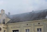 Pożar domu w Wilkowyji