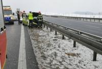 Wypadek na trasie S5