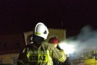 Gasili komin i wyciągali karetkę! Dwie interwencje strażaków z Kłecka