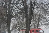 Wypadek autobusu w Pruchnowie