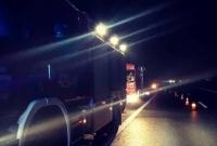 Nocne dachowanie na S5!