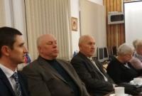 Spotkanie gminnego koła SLD z Szymonem Robaszkiewiczem - Wójtem Niechanowa