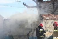 Jedna osoba ranna w pożarze przyczepy