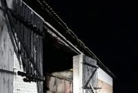 Pożar stodoły w Zdziechowie